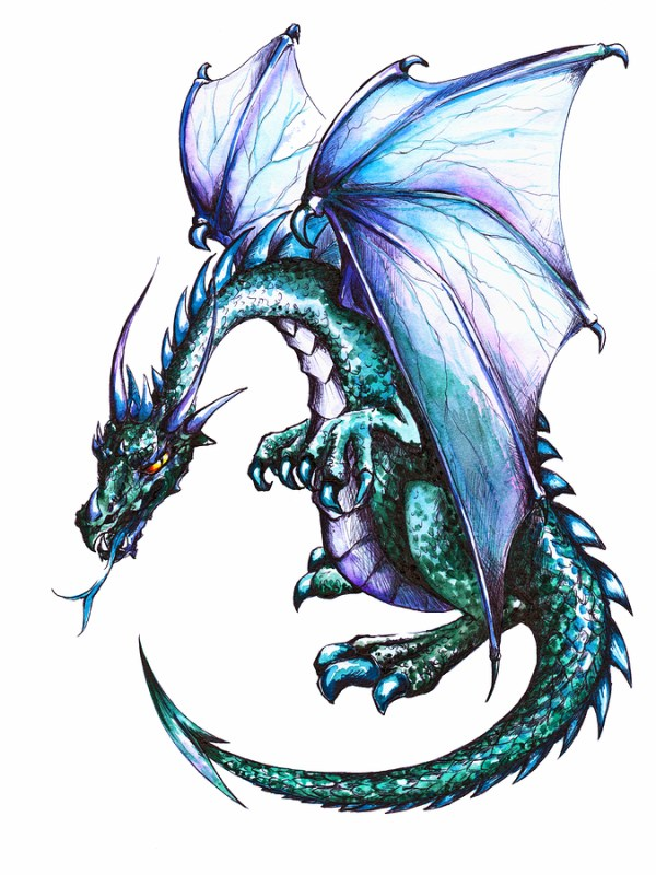 20 English Dragon Tattoos For Women Ideas And Designs