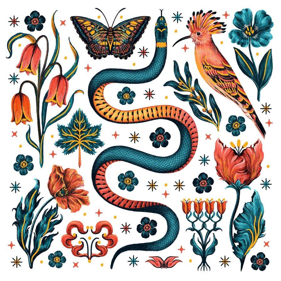 Serpentes by Raxenne Maniquiz
