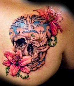 Caveira Mexicana Tattoo Feminina Significado