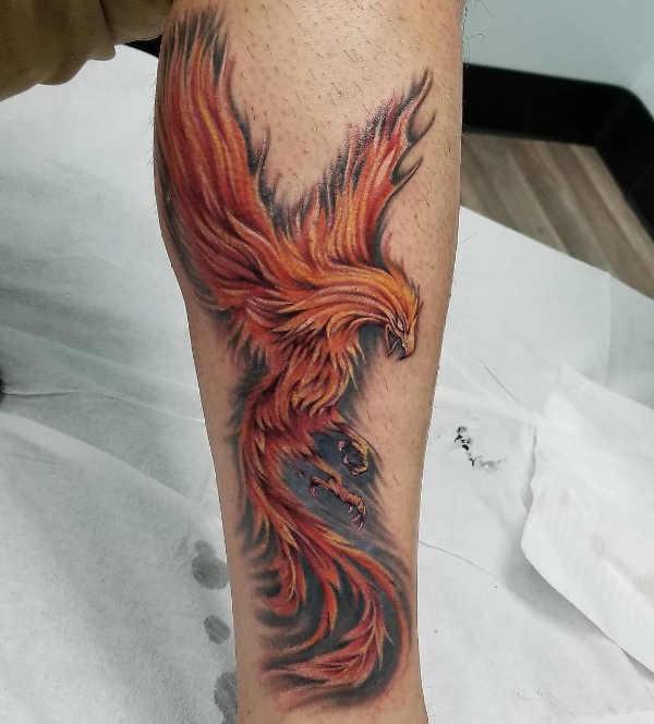 Tatuaggio Fenice Significato 36 Immagini A Cui Ispirarsi