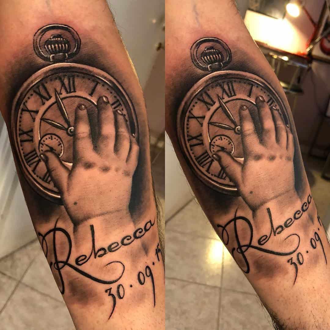 Tattoo De Diamante Com Nome
