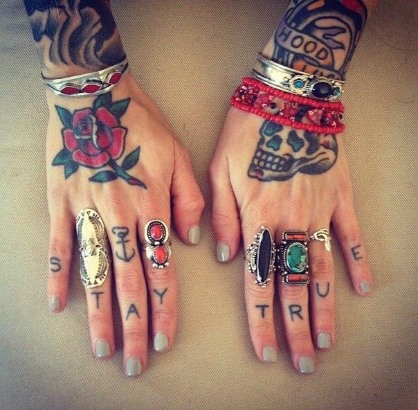 Tatuaggi Per Le Dita Delle Mani   Otorhiez