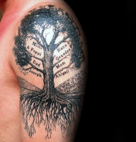60 árbol En Diseños De Tatuajes Para Los Hombres Ideas De Tinta