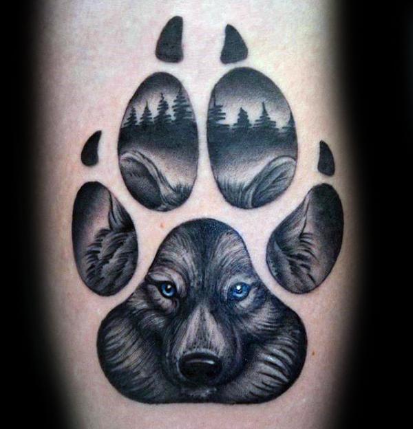 50 La Pata Del Lobo Diseños De Tatuajes Para Los Hombres Ideas De