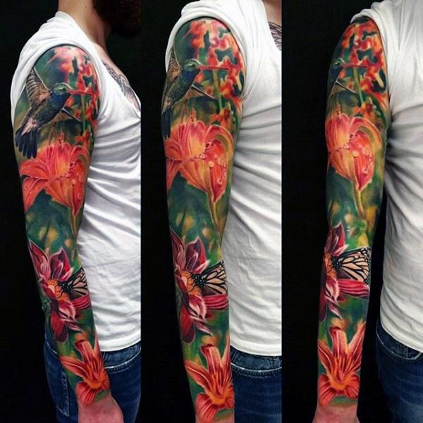 80 Hummingbird Diseños De Tatuajes Para Los Hombres Ideas De Tinta