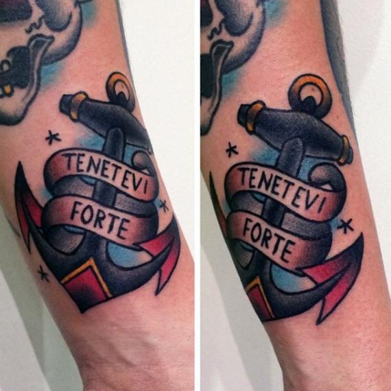 70 Tradicional Ancla Diseños De Tatuajes Para Los Hombres Ideas De