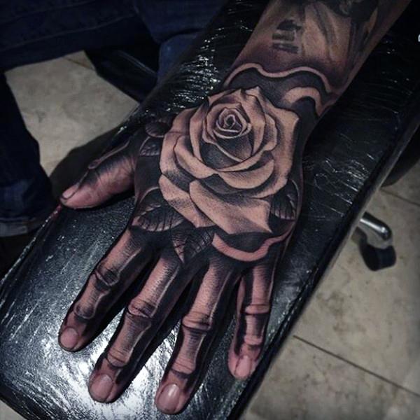 75 Mano Del Esqueleto De Diseños De Tatuajes Para Los Hombres