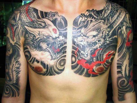 50 Dragón Chino Diseños De Tatuajes Para Los Hombres Flaming Ideas