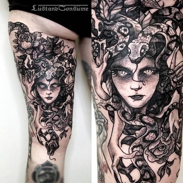 60 Diseños Medusa Tatuaje Tatuajeclubcom