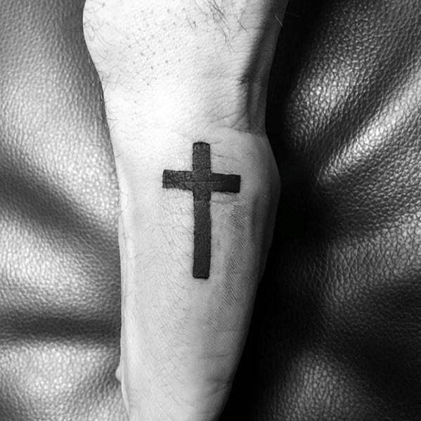 Tatuaje Cruz En La Mano Guatelinda