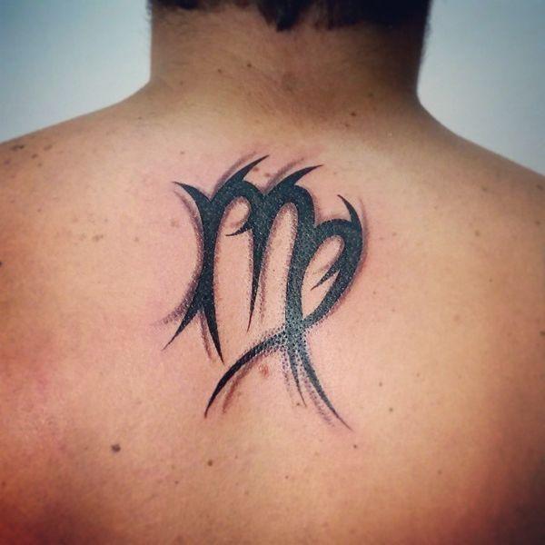 Diseños De Virgo Sign Tattoos Tatuajeclubcom