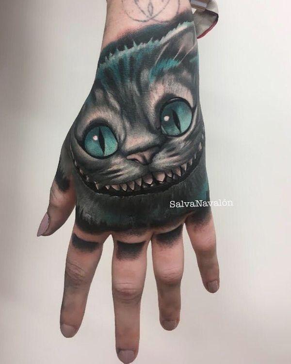 Diseños De Los Tatuajes De Cheshire Cat Tatuajeclubcom