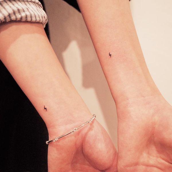 Tatuaje Del Mejor Amigo 48 Ideas De La Amistad Tatuajeclubcom