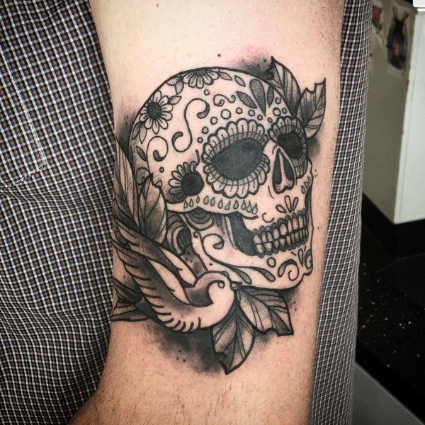 Tatuajes De Calavera De Azúcar Simbolismo Significado Y Mejores