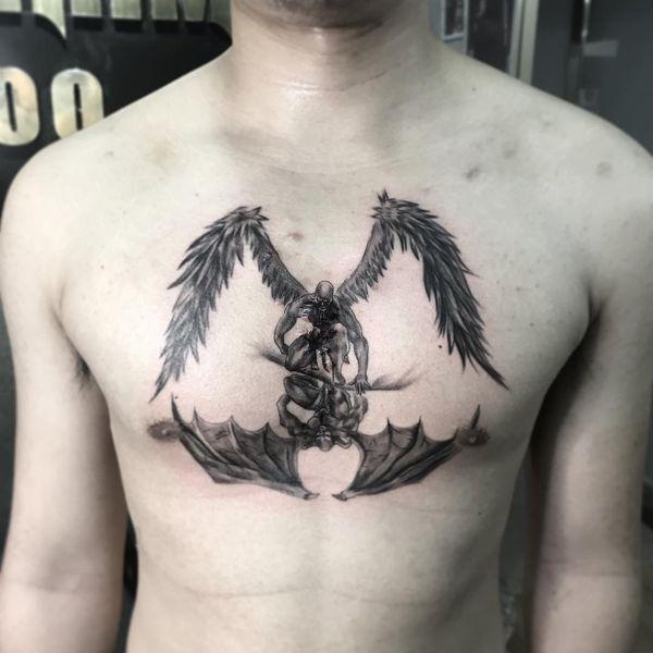 Tatuajes Satánicos Con Diferentes Significados Tatuajeclubcom