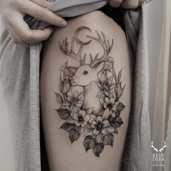 Las Mejores Ideas De Tatuajes De Ciervos De Todos Los Tiempos