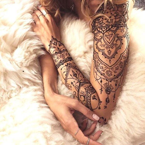 Tatuajes De Encaje Los Diseños Más Notables Y Delicados