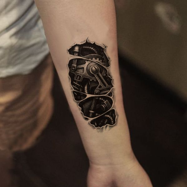 Cool Diseños De Tatuajes Biomecánicos Tatuajeclubcom