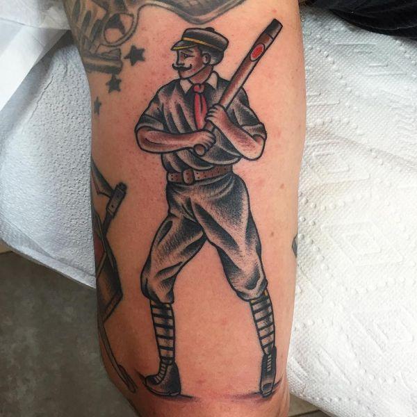 Conceptos Geniales De Los Tatuajes De Béisbol Tatuajeclubcom