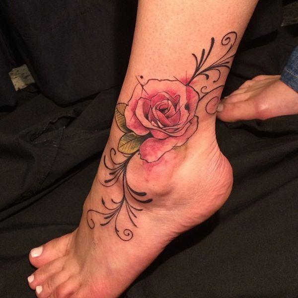 Pequeños Tatuajes De Tobillo Para Hombres Y Mujeres Tatuajeclubcom