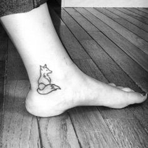 Fox Tattoo Variaciones Y Significados Para Hombres Y Mujeres