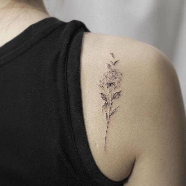 Tatuajes De Hombro Para Hombres Y Mujeres Tatuajeclubcom