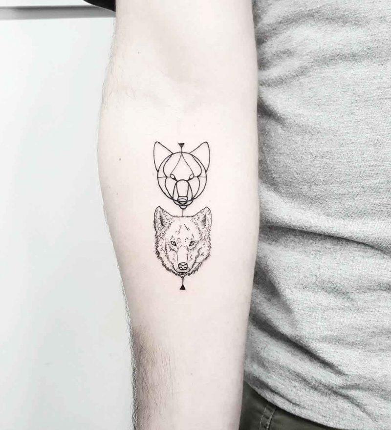 Tatuajes Lobos Pequenos