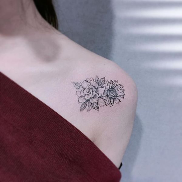 Ideas Y Significados Del Tatuaje Del Girasol Tatuajeclubcom
