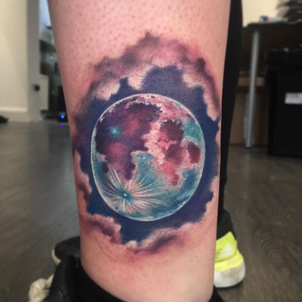 Misteriosos Tatuajes De Luna Sol Y Estrellas Tatuajeclubcom