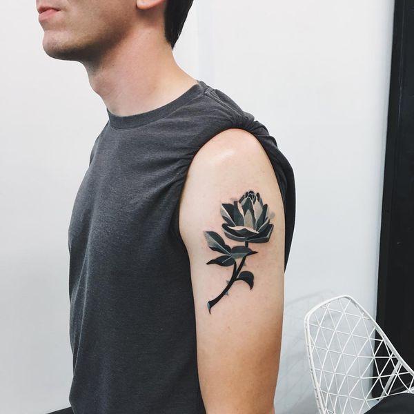 Tatuajes De Rosas En Las Mangas Del Brazo Los Hombros Y Otras