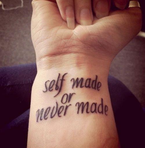 Imagenes de Tatuajes con Letras Tatuajes Para Mujeres y