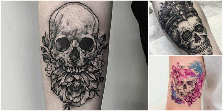 Tatuajes De Craneos En El Cuello Fondos De Pantalla