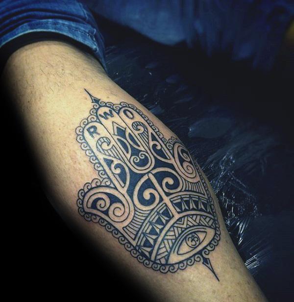 Tatuajes de Mano de Hamsa o Fatima