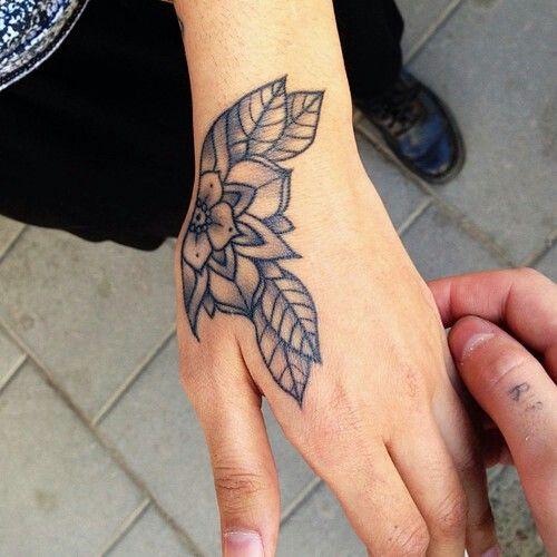 Tatuajes En Las Manos Tattoo Arte