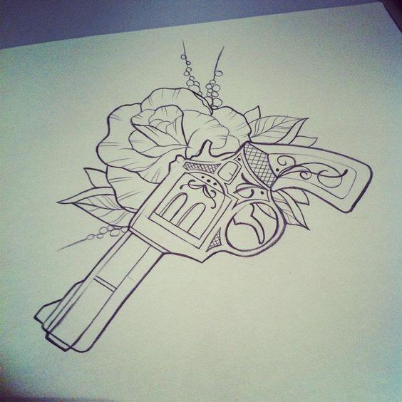 Tatuajes de Pistolas