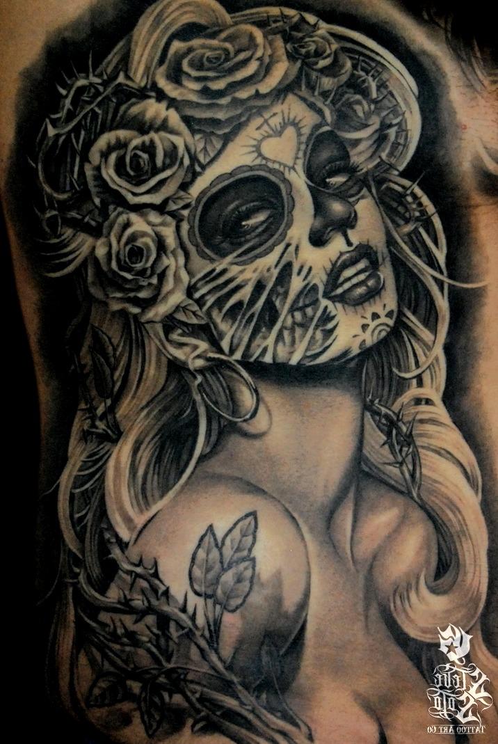 Catrina Mexicana Tattoo Significado Tattoos Ideas