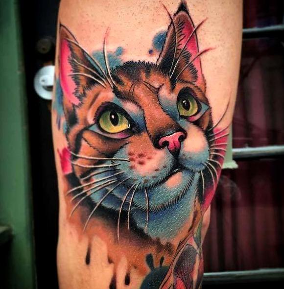 23 Ideas De Tatuajes De Gatos De Hombremujer Fotossignificado