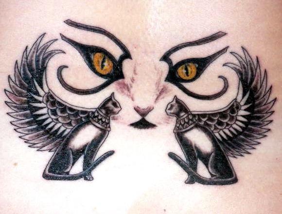 20 Ojos De Gato Tattoos Ideas And Designs