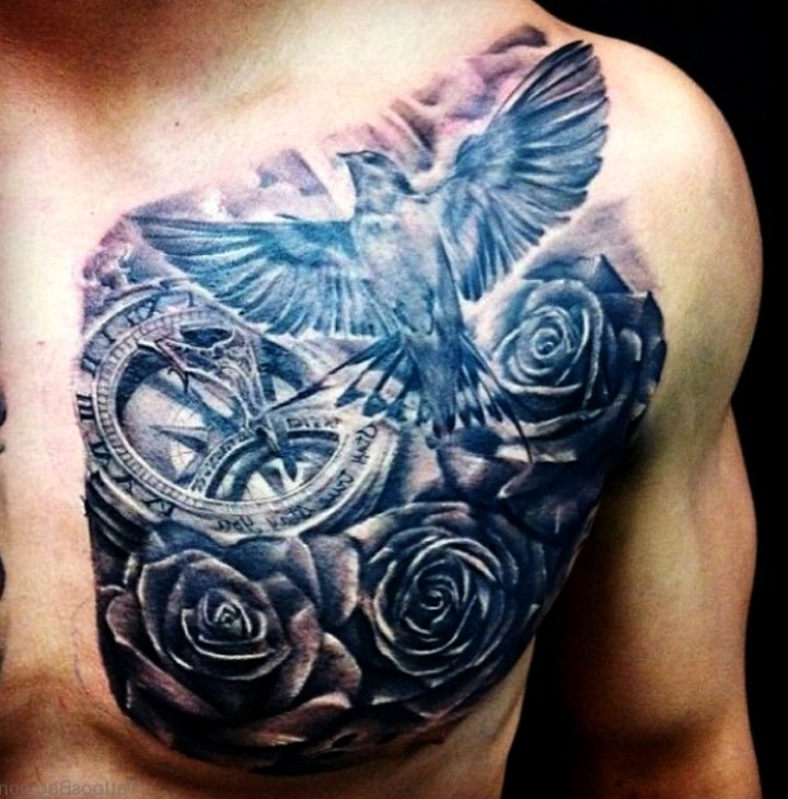 24 Ideas De Tatuajes De Palomas De Hombremujer Significado