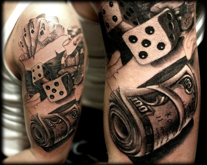 Las 18 Mejores Ideas De Tatuajes De Cartas De Póker Hombremujer