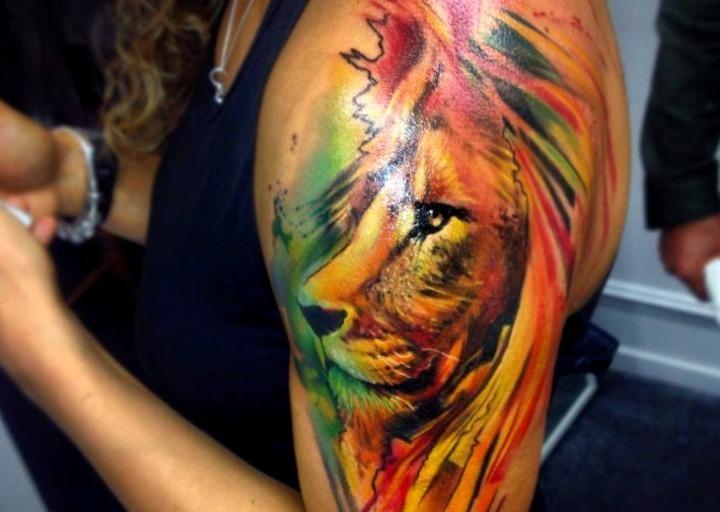 21 Ideas De Tatuajes De Leones De Hombremujer Fotossignificado