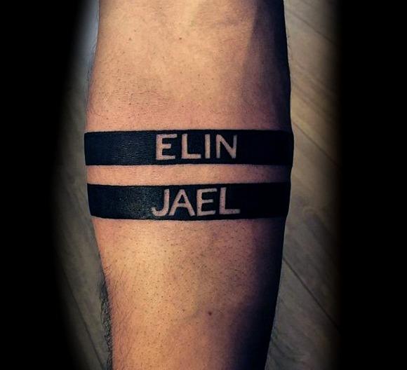 30 Ideas De Tatuajes De Nombres De Hombremujer Significado