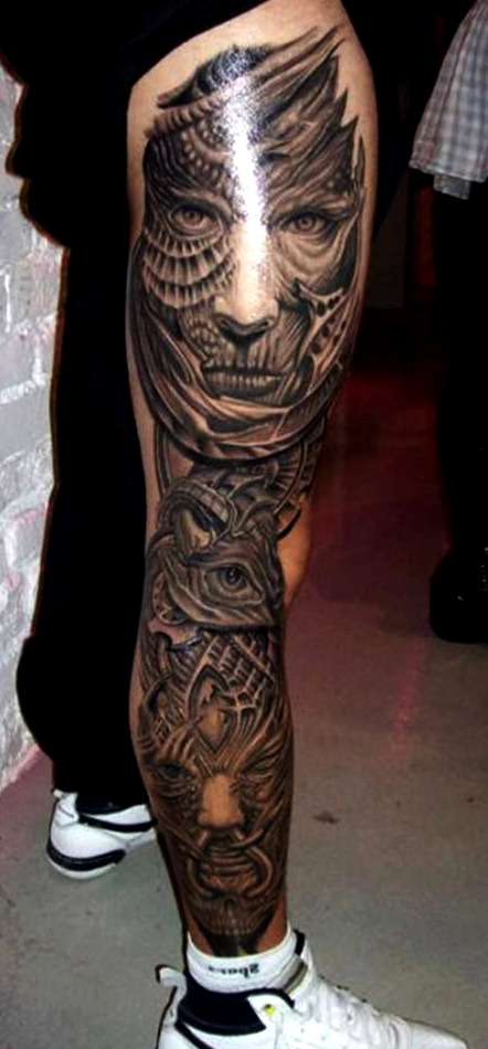Tatuajes Para Hombres En 3d Sollefe Tattoo