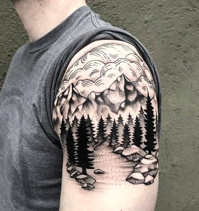 Las 39 Mejores Ideas De Tatuajes En El Hombro Hombremujer