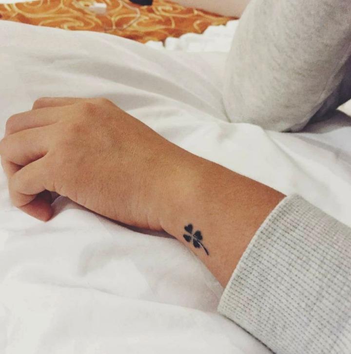 21 Ideas De Tatuajes Pequeños De Hombremujer Fotossignificado