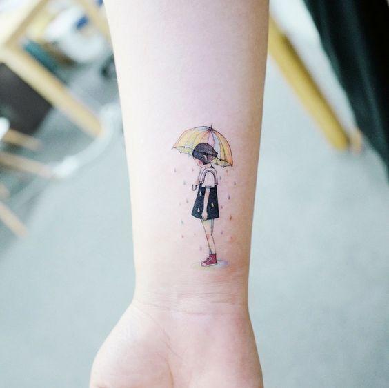 33 Mejores Tatuajes Finos Para Mujeres Y Su Significadotop 2019