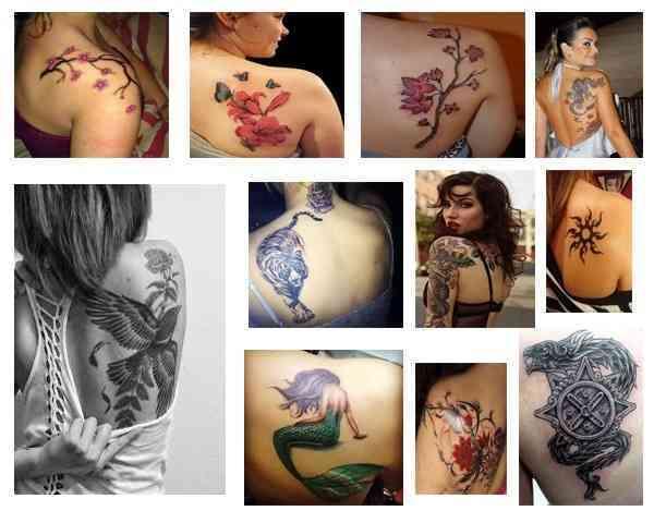 Tatuajes Para Mujeres En El Omoplato Tatuajesparacom