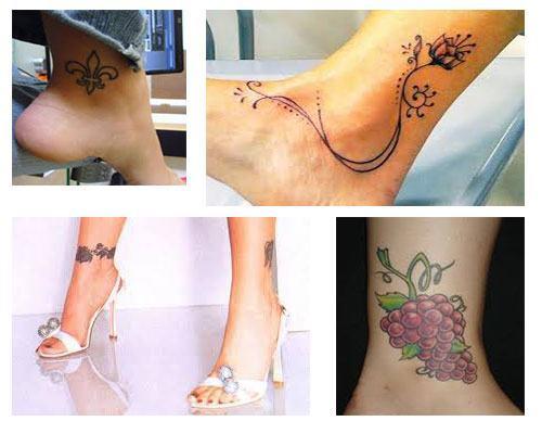 Tatuajes Para Mujeres En El Tobillo Tatuajesparacom