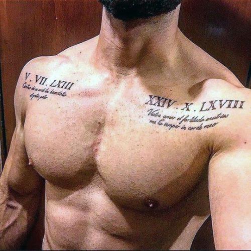 Tattoo En La Espalda Baja Hombres Sfb