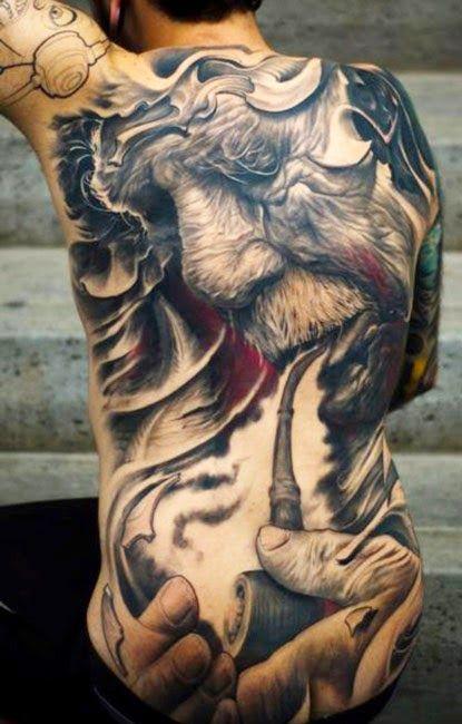 85 Ideas De Tatuajes En La Espalda Para Hombres